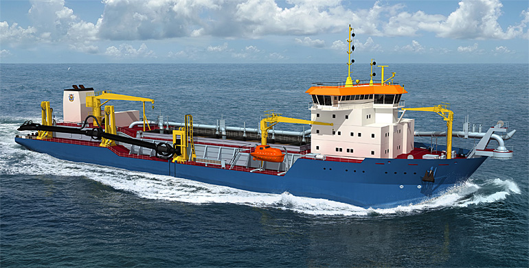 Royal IHC awarded contract for state-of-the-art hopper