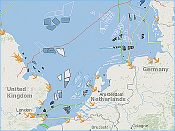 Map Of Germany North Sea.Tennet Presents Plan For Artificial Island For Wind Energy Hub In