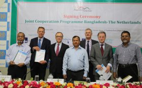 Signing ceremony Bangladesh Deltaplan 2100