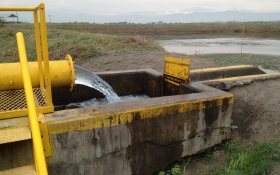 Water source in Valle del Cauca Aquifer