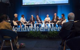 River flow session at Stockholm World Water Week