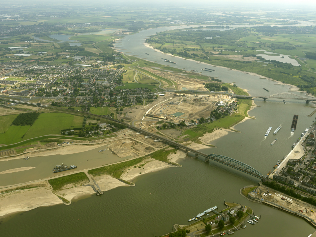 Room for the River project near Nijmegen