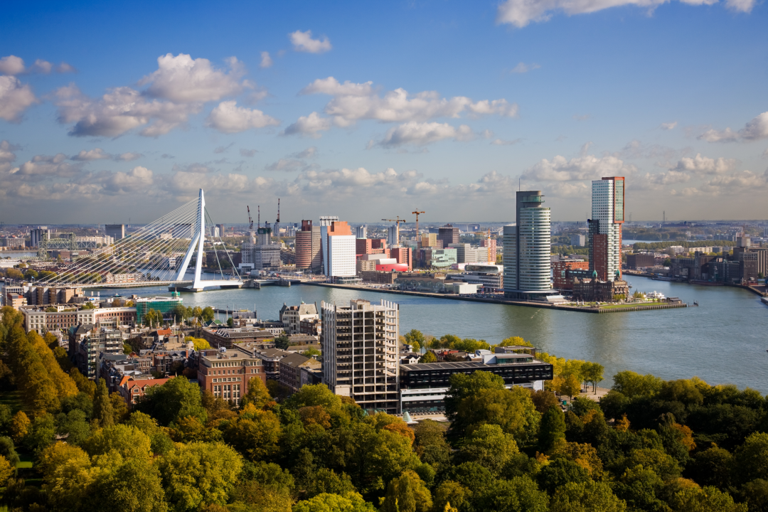 The City of Rotterdam, the Netherlands