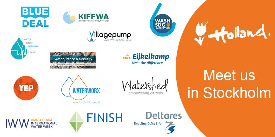 Dutch Water Sector - Meet us in Stockholm