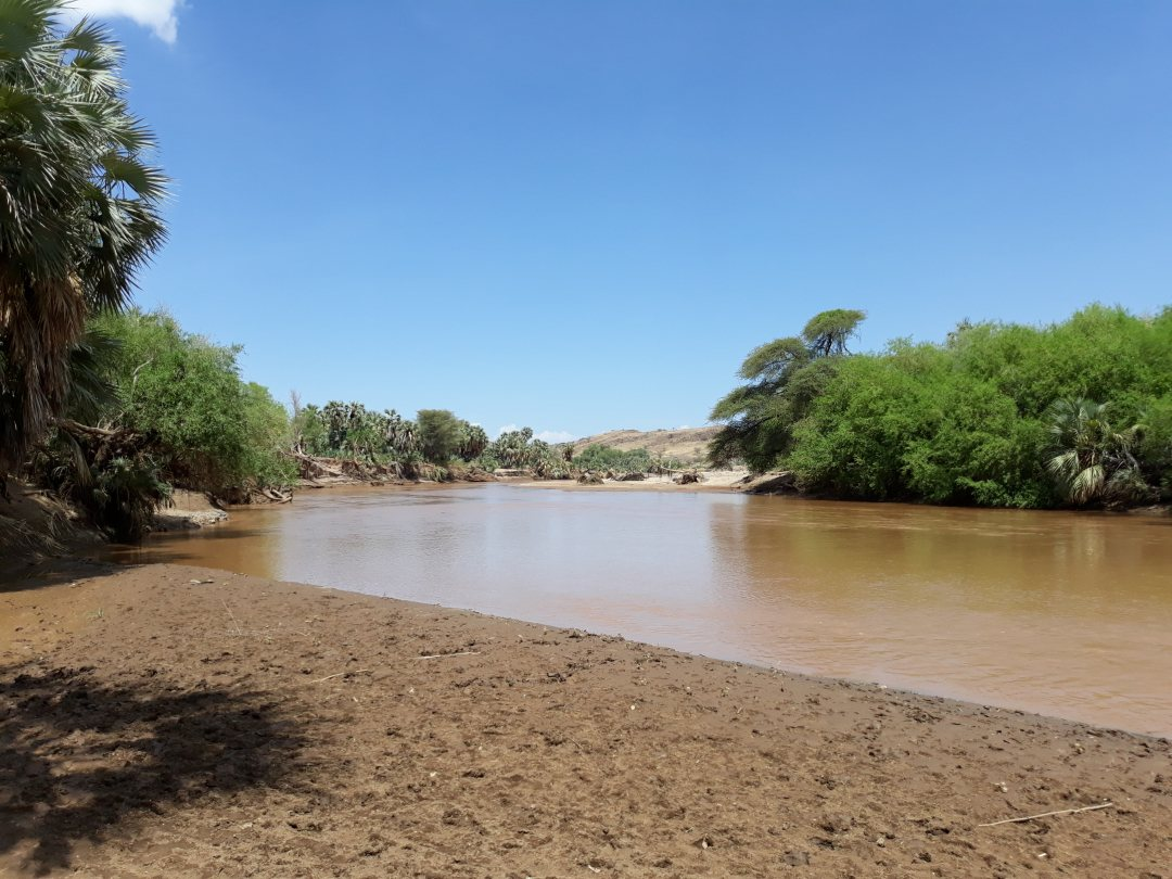 River in Northern Kenya