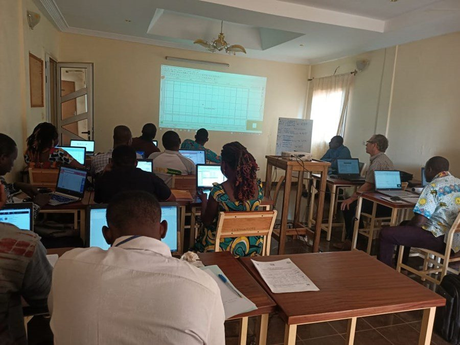 Hackathon in Burkina Faso for modelling the Kou river catchment