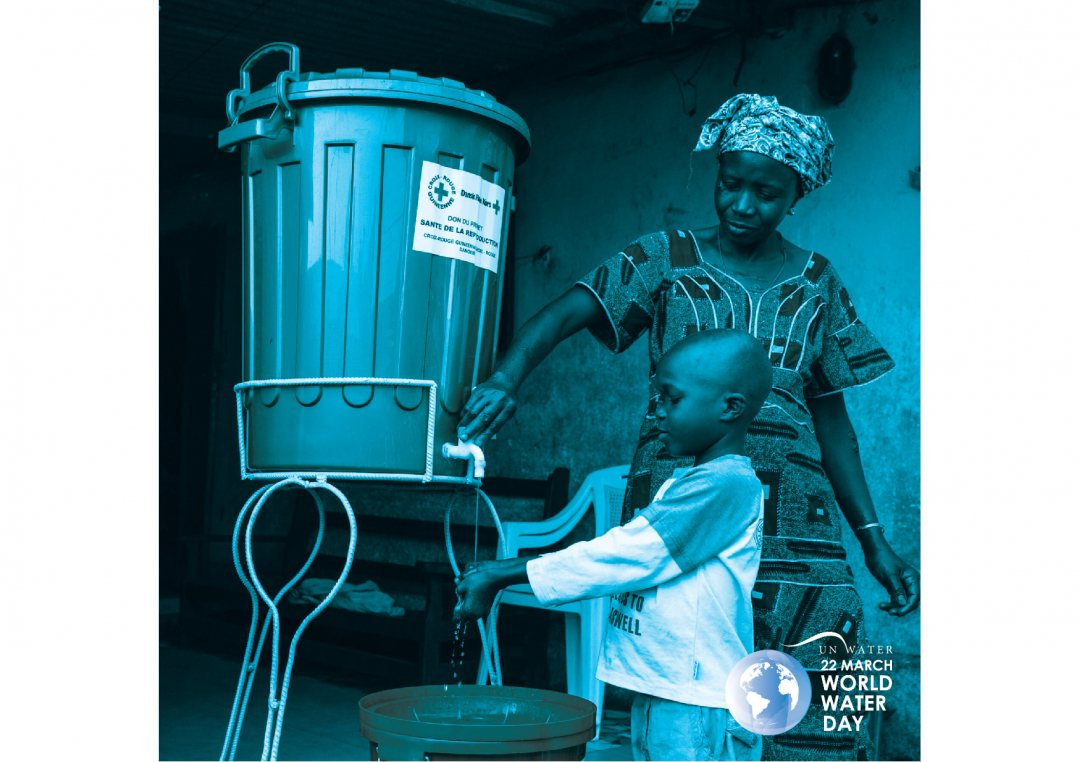 World Water Day 2020 poster on hand washing