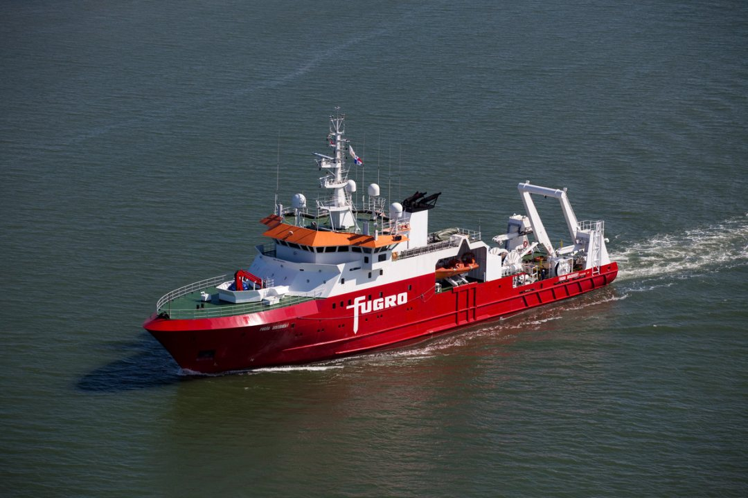 Fugro's Discovery with multi-role capabilities including seabed mapping