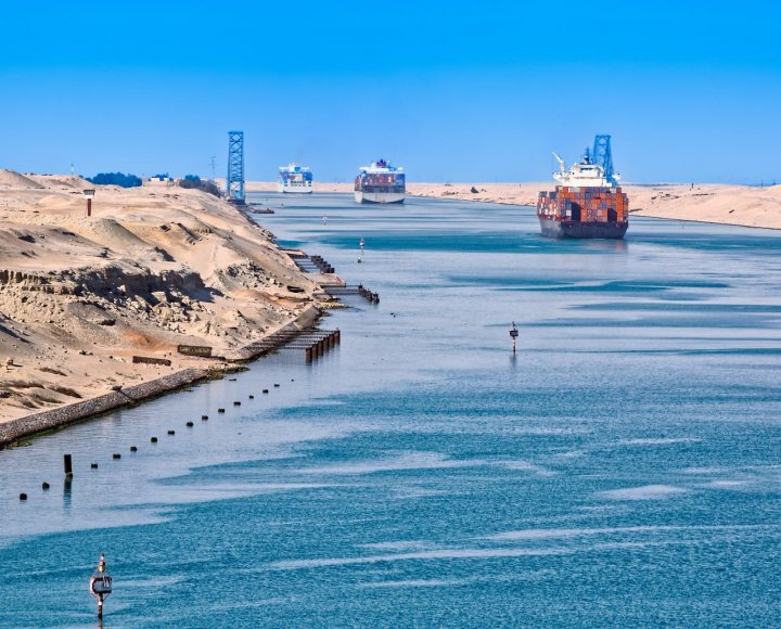 Second Suez Canal in Egypt