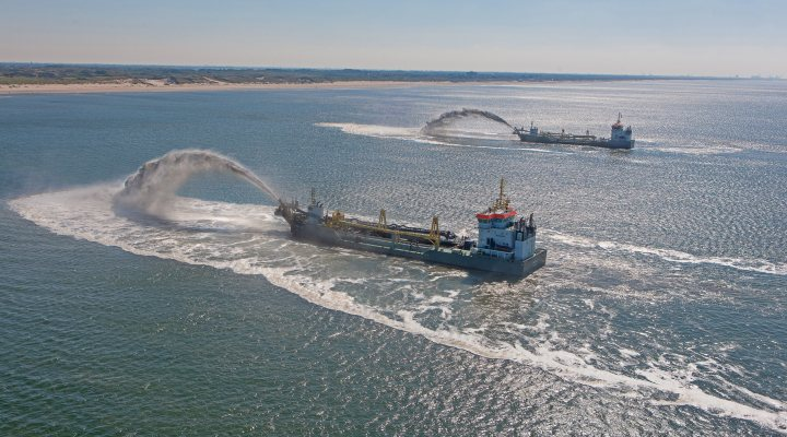 boskalis dredging dutch coast