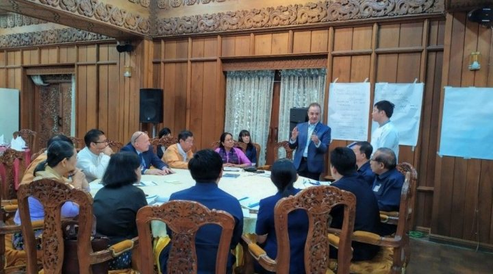 workshop in yangon on roadmap to water policy