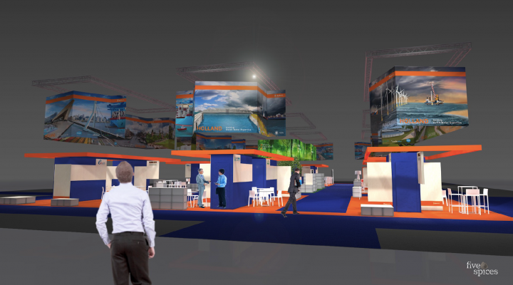 Design of the Holland Pavilion at Aquatech Amsterdam 2019
