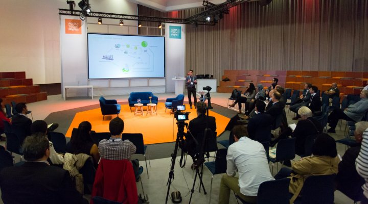 Brains for brine challenge at Amsterdam international water week 2019 in Amsterdam