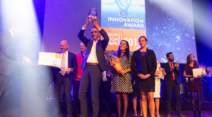 Winners of the Aquatech innovation award 2019