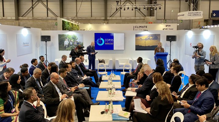 Meeting of GCA partners at COP25 in Madrid