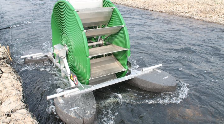Hydropowered Barsha pump for irrigation in Nepal
