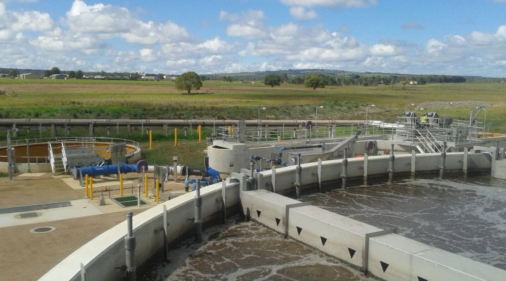 Nereda plant at wwtp Kingaroy reached its full capacity recently.