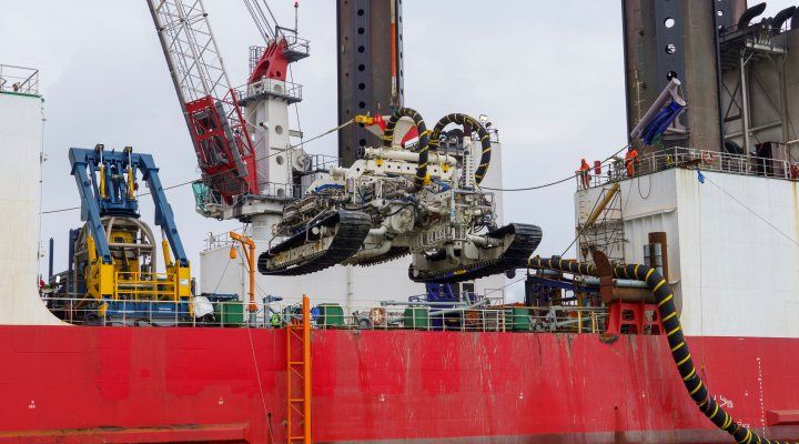 New trencher developed by Van Oord-HellenicCables to dig trenches five meters deep in seabed