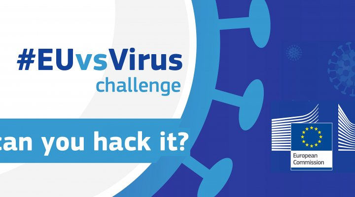 Logo EUvsVirus hackathon April 2020