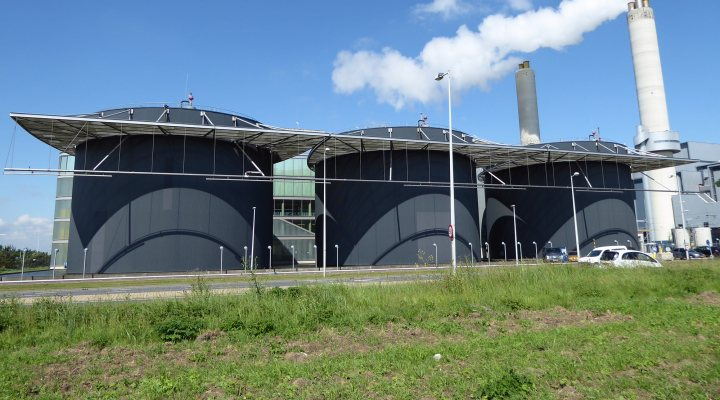 Waste water treatment plant Amsterdam-West