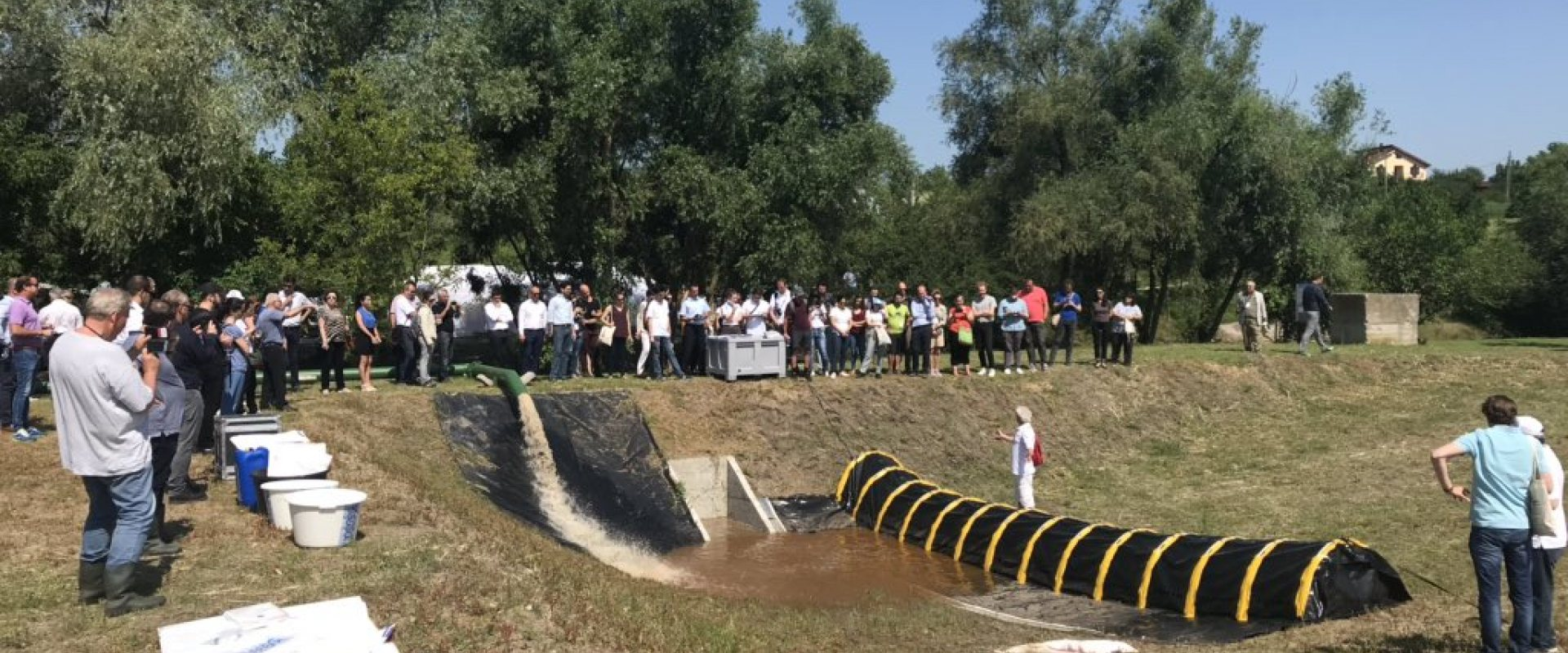 Opening of Flood Proof Romania