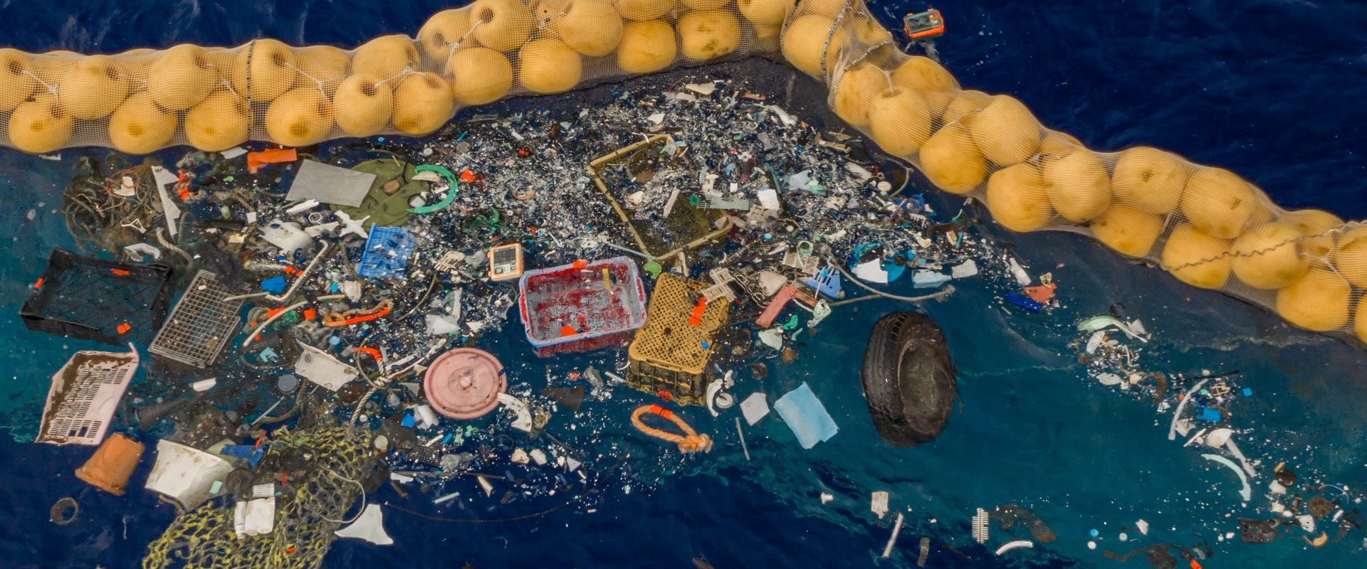 The first real plastic collected by The Ocean Cleanup in the Pacific Ocean